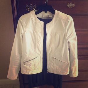 Chico's white Jean jacket